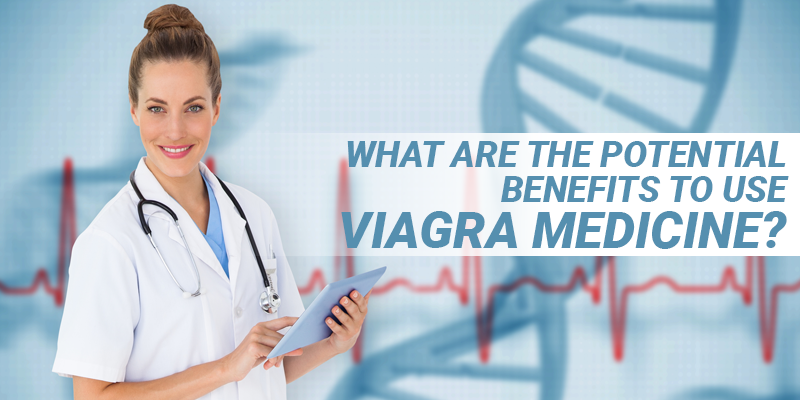 potential benefits to use viagra